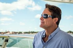 Cool shades... boating with style.