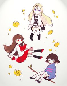 Ib,Ray and Frisk