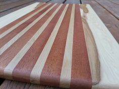 Hickory and Mahogany add some beautiful and clean combinations! Check out more on our site! Wood Cutting Boards, Butcher Block Cutting Board, Etsy App, Craft Supplies, Vintage Items, Hardwood, Etsy Seller, Check, Beautiful