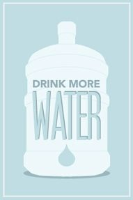 Your body thirsts for it!  The more you give it, the happier it will be!