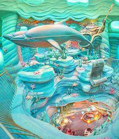 No photo description available. Disney Parks, Disney Pixar, Disneysea Tokyo, Disney Aesthetic, Tokyo Disneyland, Tarzan, Dream Rooms, Cool Rooms, Disney Magic