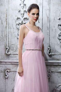 Sexy A-Line Floor-Length Spaghetti Straps Polina's Evening/Prom Dress 4