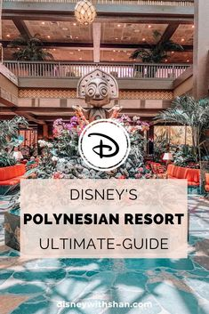 resort hotel Guide to Disney Polynesian Resort in Orlando, Florida. This guide contains pool information, rooms, dining, and more at the Polynesian Resort. Best Disney Resort, Disney Resort Hotels, Disney World Hotels, Disney Worlds, Disney World Tips And Tricks, Disney Tips, Walt Disney, Disney Parks, Disneyland Tips