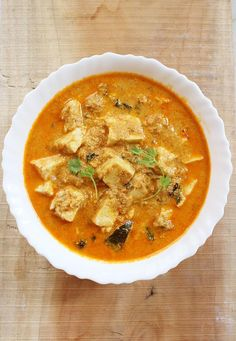 Delicious paneer korma recipe with step by step pictures. paneer korma or paneer kurma goes well with rice, pulao or roti
