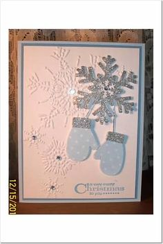 Make a Mitten by BLN - Cards and Paper Crafts at Splitcoaststampers