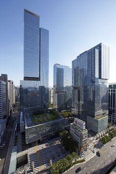 Samsung Seocho in Seoul by Kohn Pedersen Fox Associates