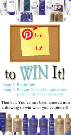 pin it to win it! www.nisim.com