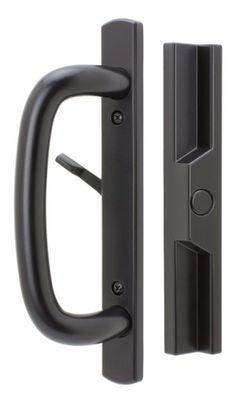 Prime Line Diecast Black Patio Door Handle Sliding