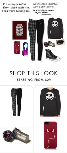 """Date Night"" by ilovecookiemonster101 ❤ liked on Polyvore featuring Kate Spade and Converse"