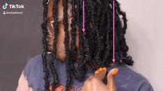 Box Braids Hairstyles For Black Women, Faux Locs Hairstyles, Black Girl Braids, Hair Ponytail Styles, Curly Hair Styles, Natural Hair Styles, Blonde Hair Makeup, Natural Hair Braids, Shoulder Hair