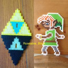 Patter for my a link between worlds link perlerbead stand. Designed and made by me.