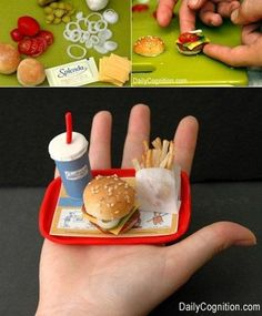 Dollhouse Tiny Value Meal