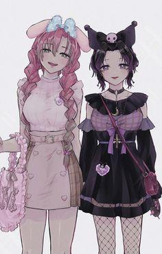 Anime Angel And Demon Base - Anime Chibi, Anime Demon, Slayer Anime, Kawaii, Anime Poses, Anime Angel, Demon, Chibi Girl, Fan Art