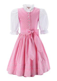Kinderdirndl, Turi Landhaus (3tlg.) ab 49,99€. mit traditionellem Muster, Bluse kann auch extra getragen werden, praktischer Knopfverschluss bei OTTO