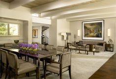 Classic+Contemporary+Dining+Room+by+Gary+Lee+on+HomePortfolio