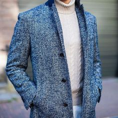 texture // herringbone, fall style, menswear, mens style, mens fashion, sweater, cord sweater, preppy, topcoat, winter coat, formal