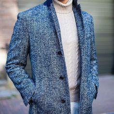 texture // herringbone, fall style, menswear, mens style, mens fashion, sweater, cord sweater, preppy, topcoat, winter coat, formal