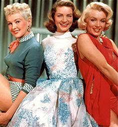 How To Marry a Millionaire - Lauren Bacall, Betty Grable, Marilyn Monroe.