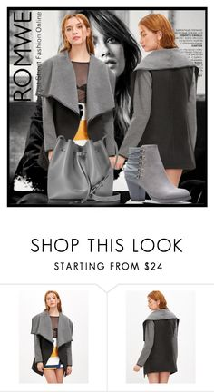 """""""ROMWE"""" by merima-mrahorovic ❤ liked on Polyvore featuring Lancaster"""