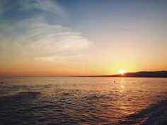 Lovely autumn sunsets on the Côte d'Azur!