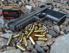 Desert Eagle .50 AE Now in Stainless Review