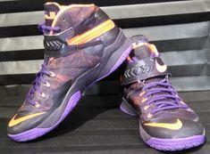 Nike Zoom Soldier VIII PRM SZ 8.5 Purple Hyper Crimson 688579-585 #Nike