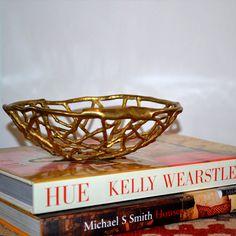 Designer Brass Bowl - elementsofstyle.com.au - store.elementsofstyle.com.au