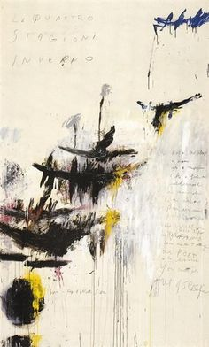 Cy Twombly Paintings, School Of Athens, Robert Motherwell, Franz Kline, Willem De Kooning, Graffiti Painting, Batman, Mark Rothko, Paul Gauguin