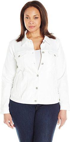 db81e4d35e871 Levi s Women s Plus-Size Trucker Jacket