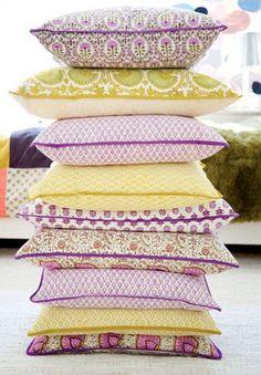 block print pillows