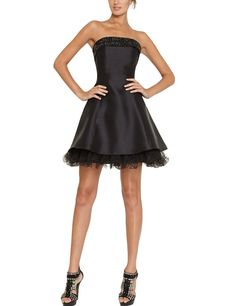 SeasonMall Women's Short Prom Dresses A Line Satin Homecoming Dresses Size 22W US Black. Satin and Tulle, Strapless. Beading, Sequins, Rhinestone. IMPORTANT NOTE: Please EMAIL us your EXACT Measurement of 1 Bust, 2 Waist, 3 Hollow to Flow AFTER Ordering, so we could help you to Select or Customize a more fitted dress. The method of measurement is BEHIND the pictures of dress. NOTE: This style is custom made, it will spend 15 - 20 days to customize and 3 - 5 days on the road . If you want…