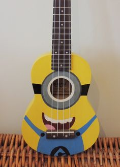 Hand-painted Minion ukulele! https://www.etsy.com/uk/listing/228180114/hand-painted-ukulele-minion?ref=sr_gallery_10&ga_search_query=ukuleles&ga_search_type=all&ga_view_type=gallery