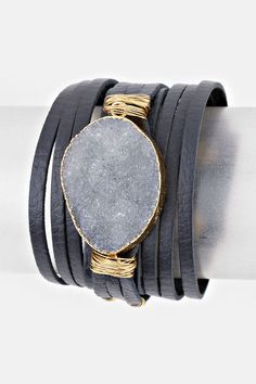 Tendance Bracelets  Leather Kai Bracelet in London Quartz