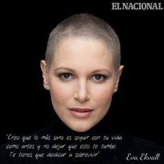 Hoy, Día Internacional contra el Cáncer de Mama, dedicamos nuestra foto del día a una mujer ejemplar: Eva Ekvall