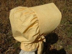 Mammy's bonnets were never fancy, just useful and necessary to protect her in the hot Kentucky sunshine.