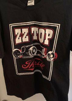 6b8dd99c EUC ZZ TOP Thrill rock blues band Shirt 100% Cotton 2016 Tour Size Extra  Large