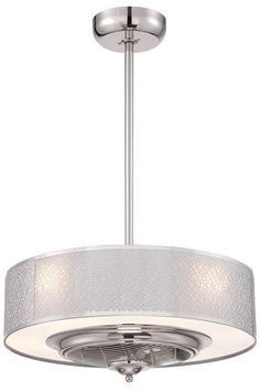 Cozette Indoor Ceiling Fan - Ceiling Fans With Lights - Modern Ceiling Fans - Contemporary Ceiling Fan | http://HomeDecorators.com