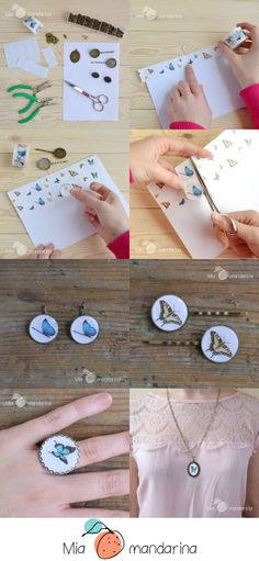 DIY Combinando Camafeos y Washi Tape. www.miamandarina.es #miamandarinablog