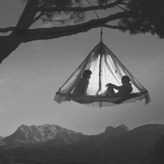 fuck a tree house, tree tent or bust! Trampolines, Camping 3, Family Camping, Camping Hacks, Outdoor Camping, Tree Tent, Just Dream, Dream Life, Chula