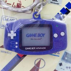 Nintendo Handy Game History Miniature Figure Key Chain GAME BOY Advance JAPAN