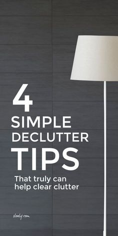 Use these simple declutter tips to cut through your clutter for that simpler more organized life you dream of. There is so much advice on decluttering out there but these simple tips cut through the noise. #decluttertips #decluttering #organized #minimalist #simpleliving Small Space Organization, Life Organization, Living On A Budget, Simple Living, Organizing Your Home, Organizing Tips, Organising, Cleaning Tips, Clean House Schedule