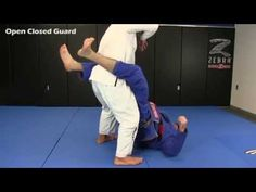 Multiple times World Champion Rodolfo Vieira demonstrates one of his favorite closed guard pass.