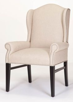 Hemingway Wing Chair from Carrington Court Direct. Wooden Dining Chairs, Dining Room Chairs, Outdoor Chairs, Dining Rooms, White Bedroom Chair, Toddler Table And Chairs, Swivel Rocker Recliner Chair, Home Office Chairs, Buy Chair