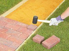 How to Lay a Brick Pathway   DIY Hardscape   Building Retaining Walls, Walkways, Patios & More   DIY