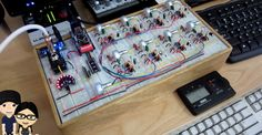 Modular 555 Synth is Controlled by MIDI   Hackaday