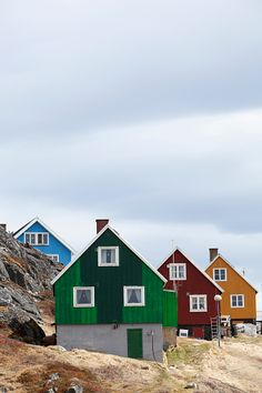 Greenland, Houses; Paamiut