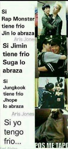 BTS meme// Namjin namjoon and jin// yoonmin yongi and jimin// hopekook jhope and kookie