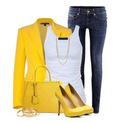 i love the yellow