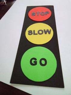 foam traffic light craft kit for kids by mimiscraftshack on Etsy. $1.25, via Etsy.