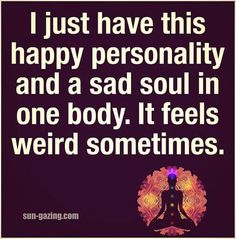 Happy personality. ..